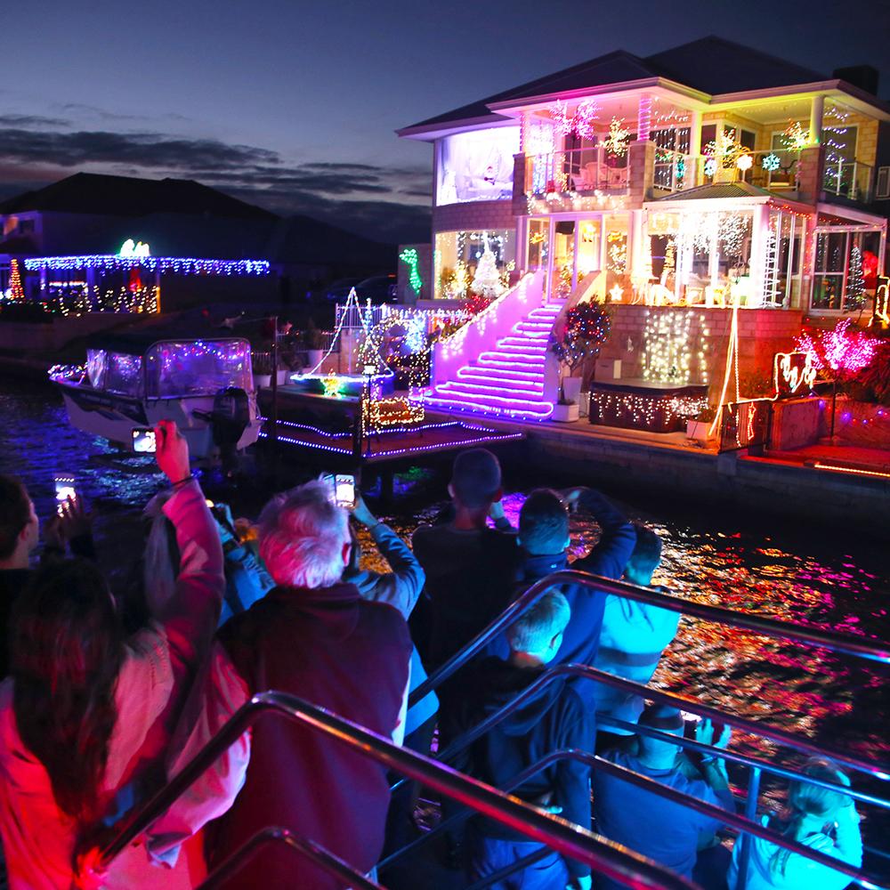 Christmas Lights Cruise Sea West
