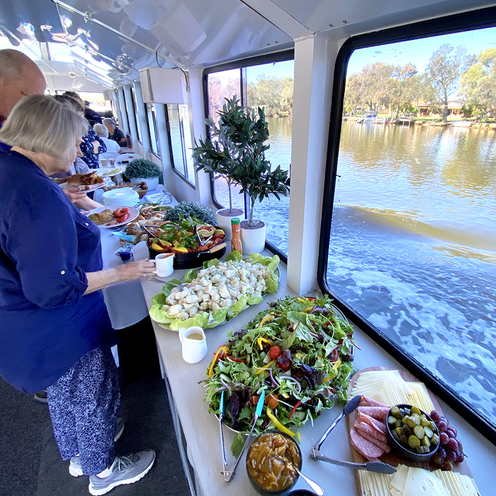 Murray River Lunch Cruise Sea West